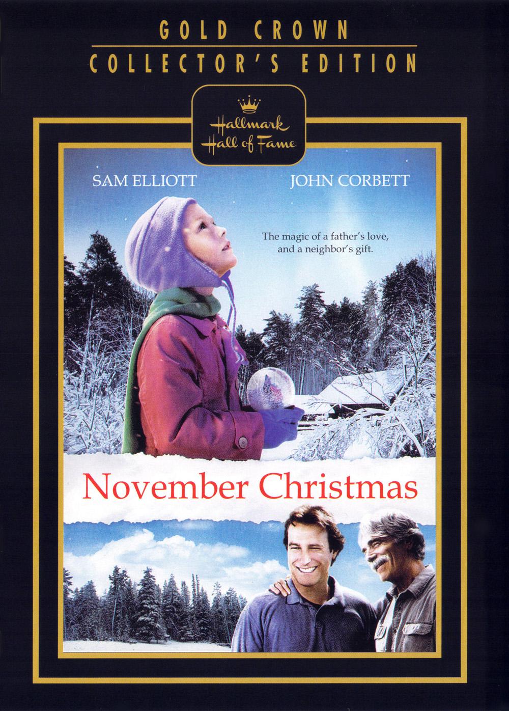 NOVEMBER CHRISTMAS (DVD, 2010) - HALLMARK HALL OF FAME - NEW DVD ...